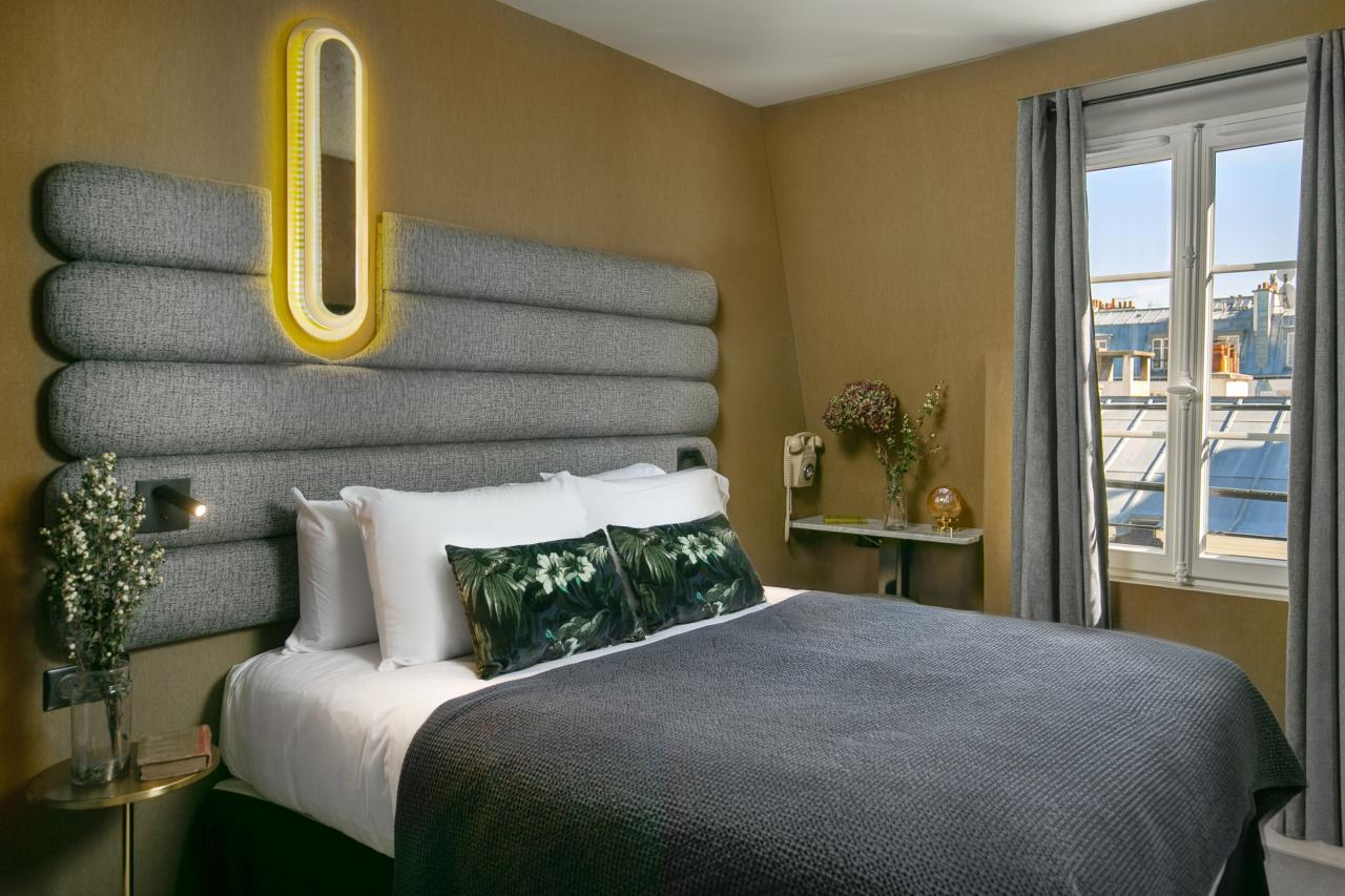 La Planque Hôtel - ChambreLa Planque Hotel - Room