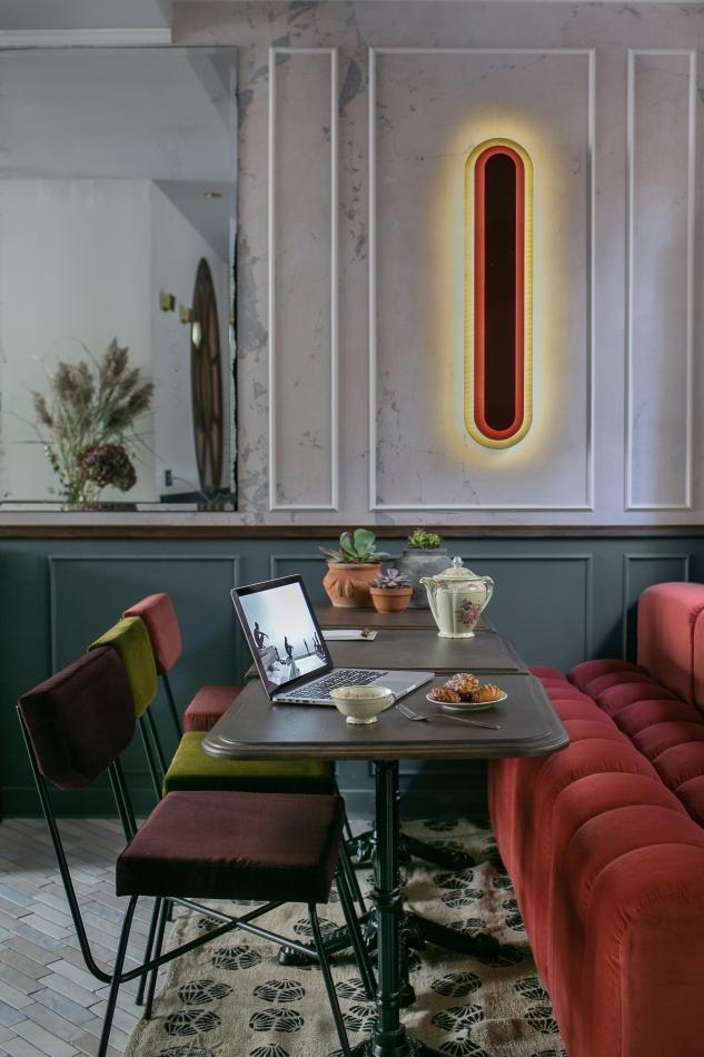 La Planque Hôtel - Salon